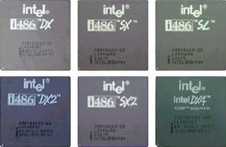 Intel 80486 (DX, SX, SL, DX2, SX2, DX4)